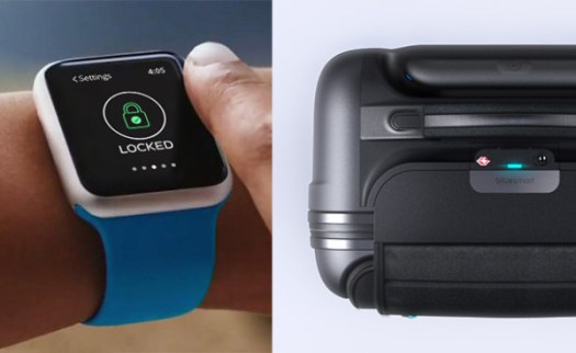 Connecting Flight: Bluesmart Smart Carry On Luggage in technology main Category