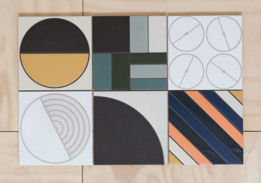 The Agrarian Handpainted Collection from Fireclay Tile
