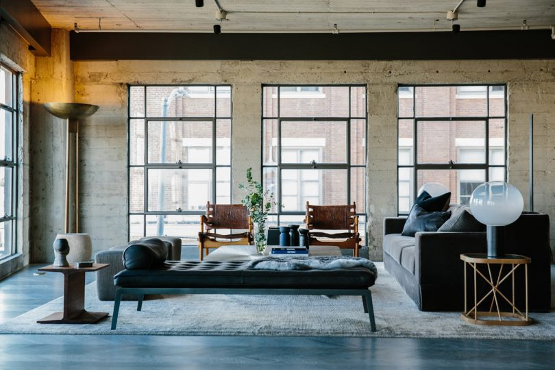 Marmol Radziner Designs A Loft in Los Angeles' Arts District
