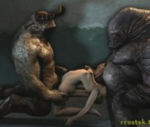 3 Dimensional Monster Porno Animations