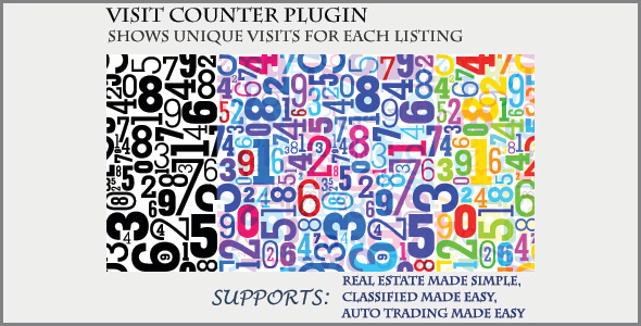 preview - Visit Counter - Classifieds Plugin