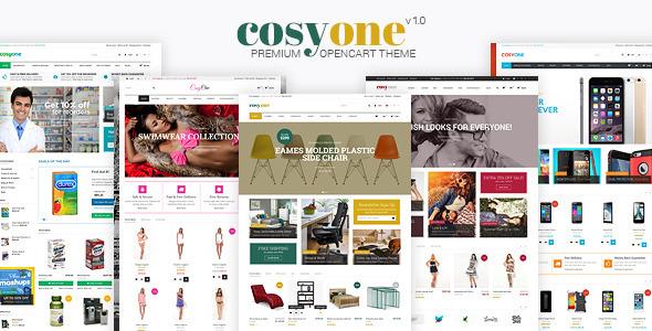 CosyOne - Premium Multipurpose Opencart Theme