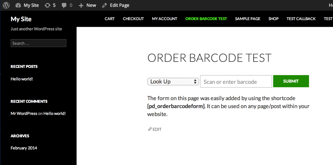 Order Barcodes for WooCommerce 4