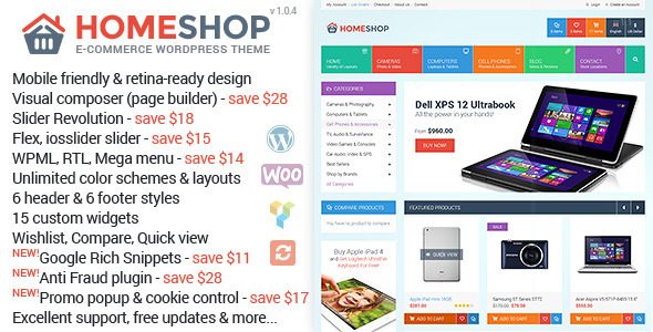 Home Shop - Premium WooCommerce Theme
