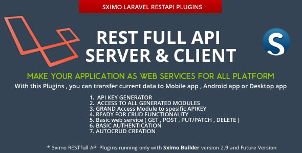 Laravel - RESTfull API Client & Server
