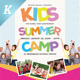 Download Kids Summer Camp Flyer Templates from GraphicRiver