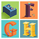 Download Alphabets Concept in 3D from GraphicRiver