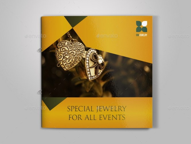 Jewelry Catalog Template  Jewelry Engagement