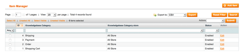 Knowledge Base Manager - 4