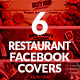 Download Restaurant Facebook Covers from GraphicRiver