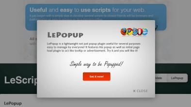 LePopup plugin
