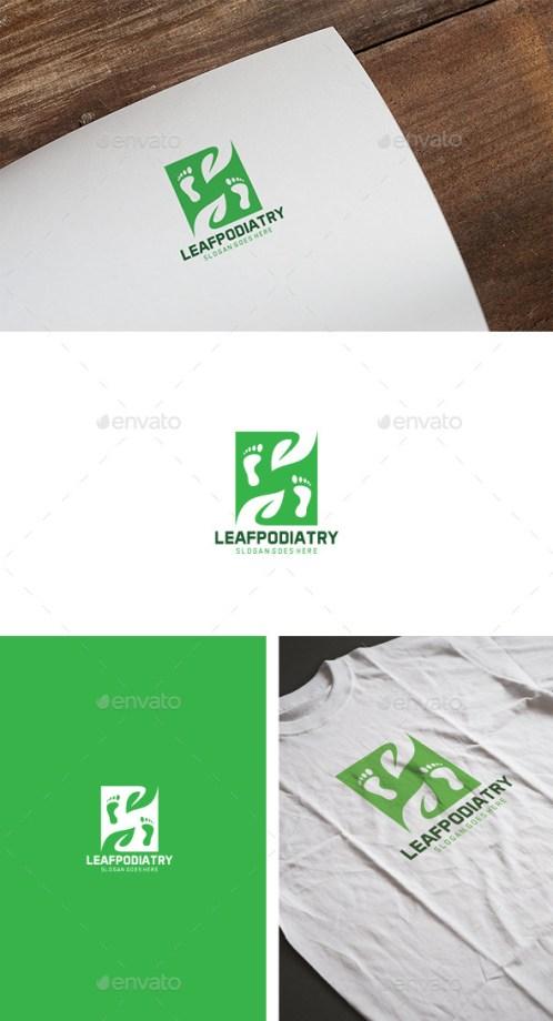 Logotipos para podólogos profesionales que darán una imagen cuidada a tu negocio.