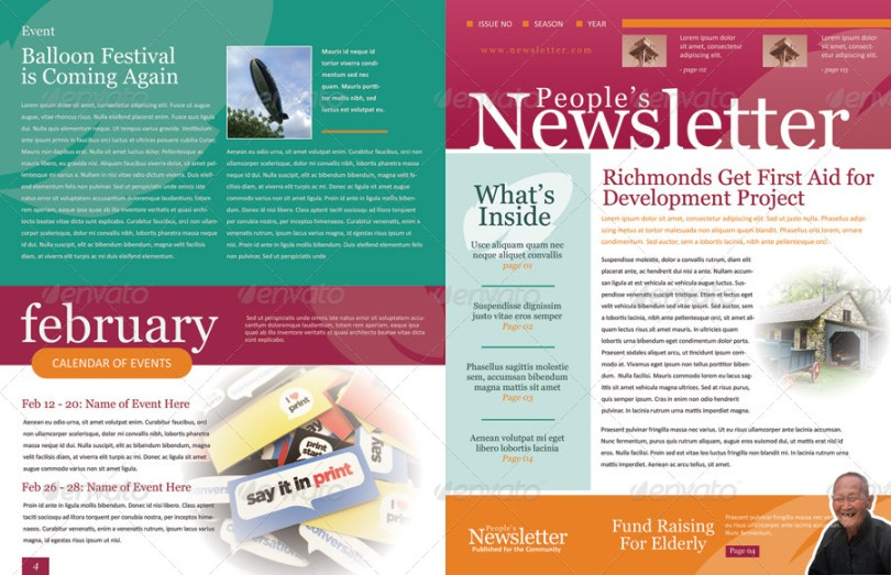 Image result for what is newsletter template?