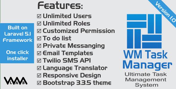 WM Task Manager | Ultimate Task Management System