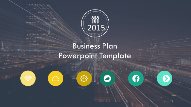 20 outstanding business plan powerpoint templates the inspiration blog all slides are editable in this modern powerpoint presentation it looks great on both 43 and 169 screens perfect for business presentations toneelgroepblik Choice Image
