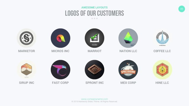 10 best powerpoint templates of all time the inspiration blog then here are other examples of professional powerpoint templates when delivering your presentation this ms pp template by marketofy will make sure toneelgroepblik Choice Image