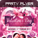 Download Valentine's Day Party Flyer Template from GraphicRiver