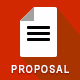 Download Project Proposal Template Bundle w/ Invoice & Contract from GraphicRiver