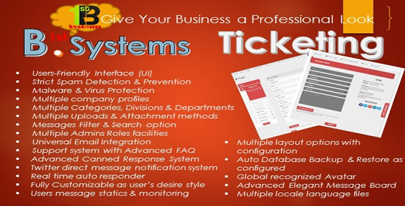 Premium PHP Ticketing System - CodeCanyon Item for Sale