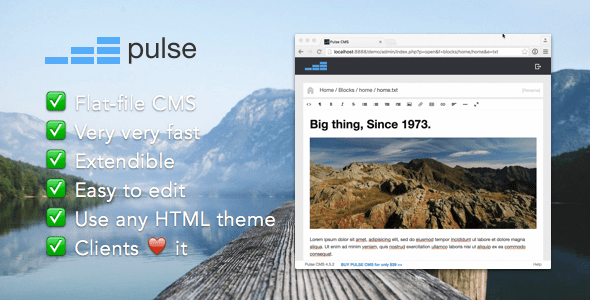 Pulse CMS - CodeCanyon Item for Sale