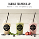 Download Bubble tea Mockup from GraphicRiver