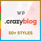 Download CrazyBlog - Start A Blog or Magazine for Adsense or Affiliate Business from ThemeForest