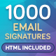 Download Email Signature from GraphicRiver