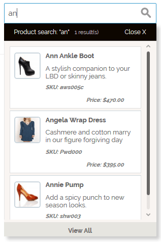 Magento Products Ajax Search Suggestions - 2