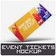 Download Event Tickets Mock-Up from GraphicRiver