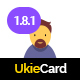 Download UkieCard - Personal Vcard & Resume HTML Template from ThemeForest