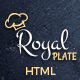 Download Royal Plate - Restaurant and Catering HTML Template from ThemeForest