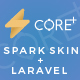Core Plus - Laravel Spark Skin