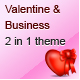 Download Valentine and Business - Email Template - 2 Layout from ThemeForest
