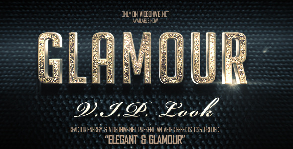 Elegant And Glamour Titles By REACTORENERGY VideoHive