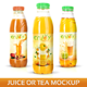 Download Juice or Tea Bottle Mockup from GraphicRiver