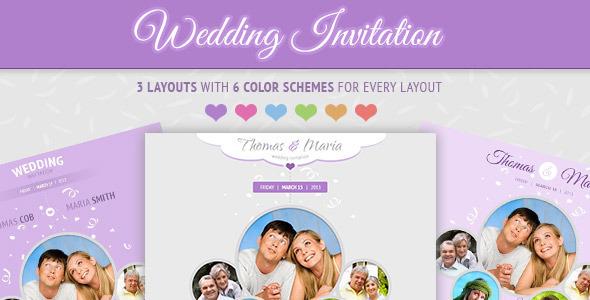 Wedding Invitation Design 44 Sample Page