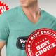 Download Professional V T-Shirt Men from GraphicRiver