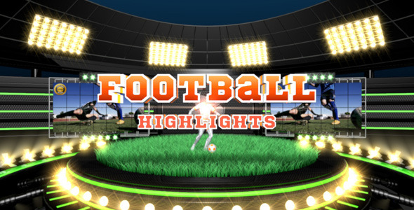 Football Highlights by Pulsarus   VideoHive