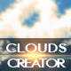 Download Cloud Shapes and Brushes Photoshop Creator from GraphicRiver
