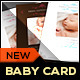 Download Boy/Girl Baby Announcement Card II - Classic from GraphicRiver