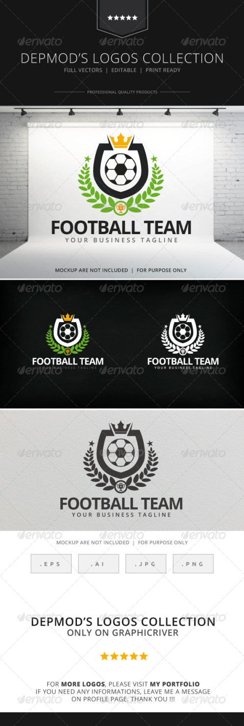 Logotipos para Peñas Deportivas y Escuelas de Fútbol.