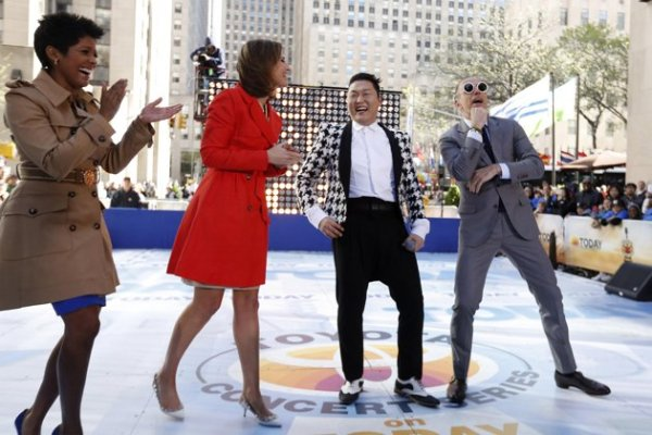 PSY Begins U.S. Promotions Starting With NBC Today Show ...