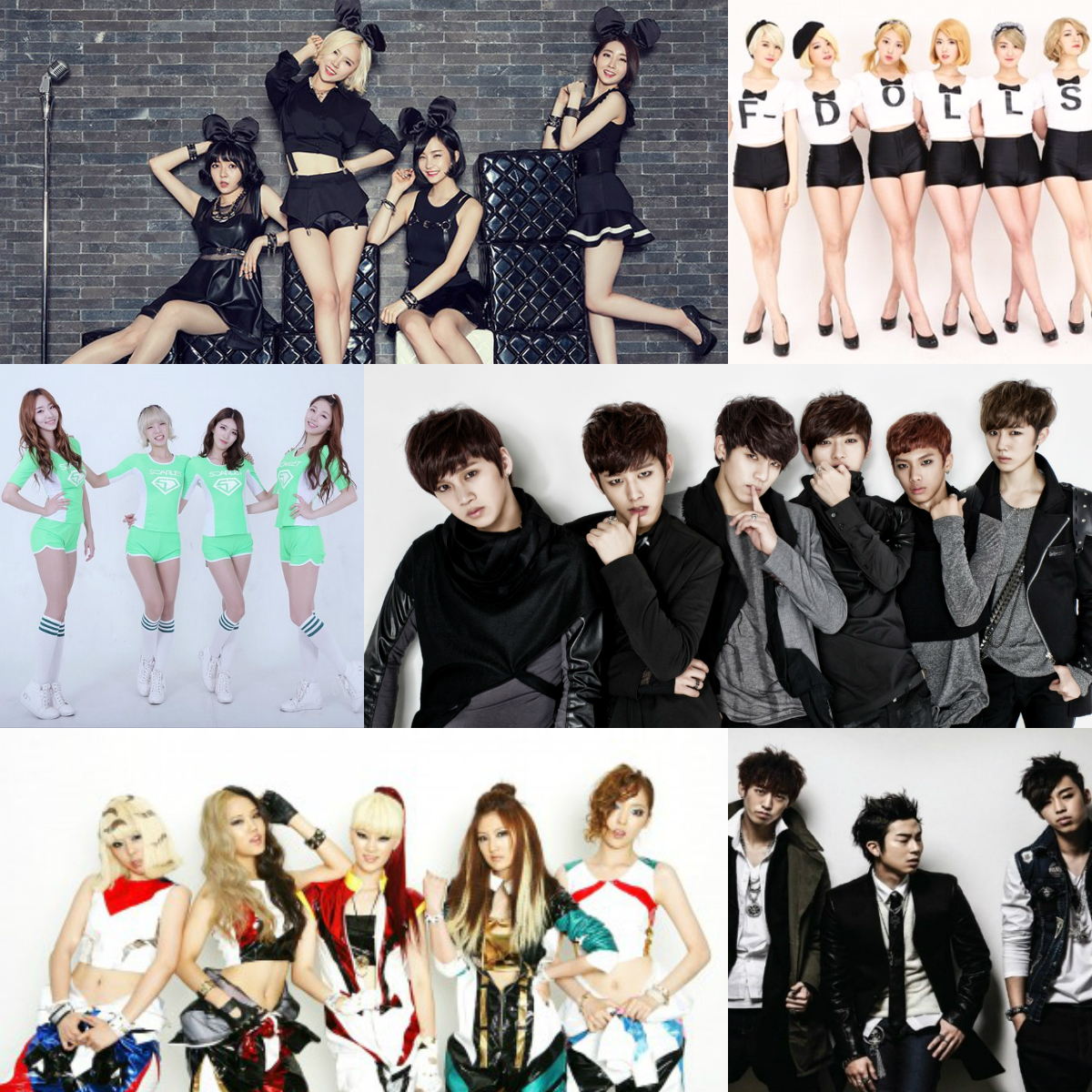 Disbanded Groups 2015 Kpop