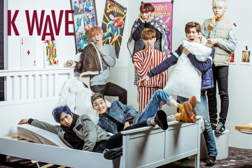 MADTOWN Displays Playful and Mischievous Poses for K-WAVE