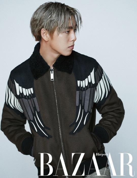 Lee Hyun Woo Smells Like Teen Spirit In Harpers Bazaar