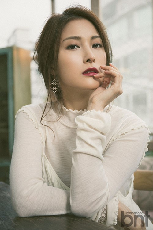 Park Gyuri Expresses Admiration For Sechs Kies In Spring Pictorial