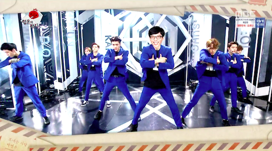Yoo Jae Suk To Perform With EXO During World Tour Concert