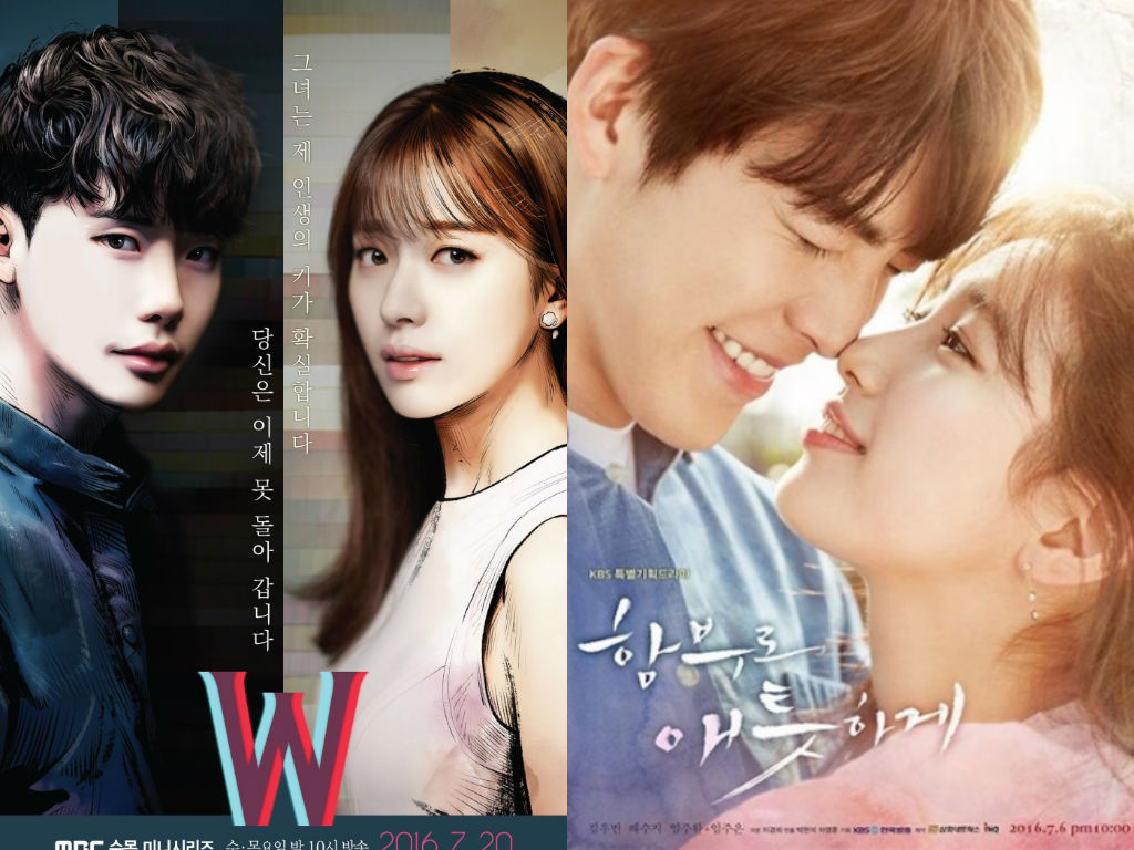 """""""W"""" And """"Uncontrollably Fond"""" Ratings Battle Surges On"""