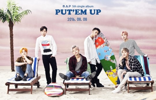 B.A.P Reveals Teaser For New Summer Album