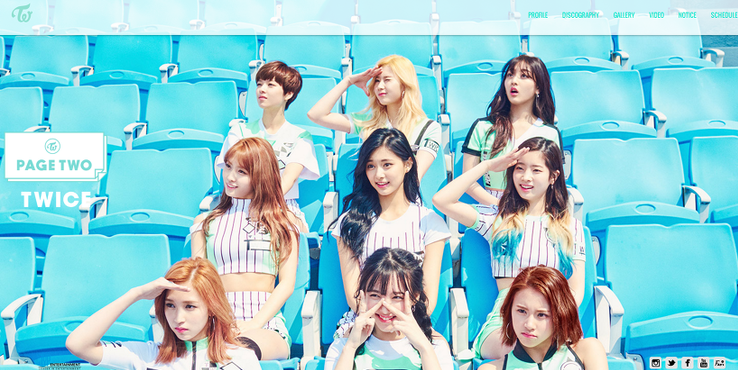 TWICE Announces Their Official Group Colors